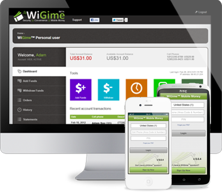 WiGime devices